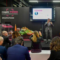A cook in MAPIC FOOD