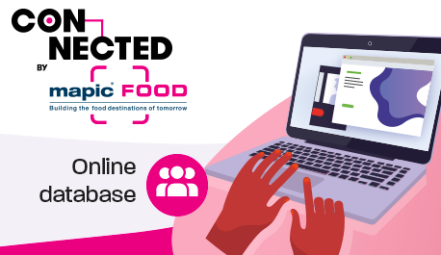 Connected by MAPIC FOOD Online database